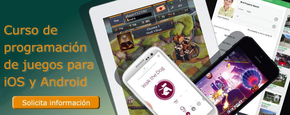 Curso de programación de juegos para iOS y Android
